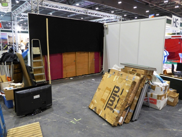 At ExCeL we start with an empty space...