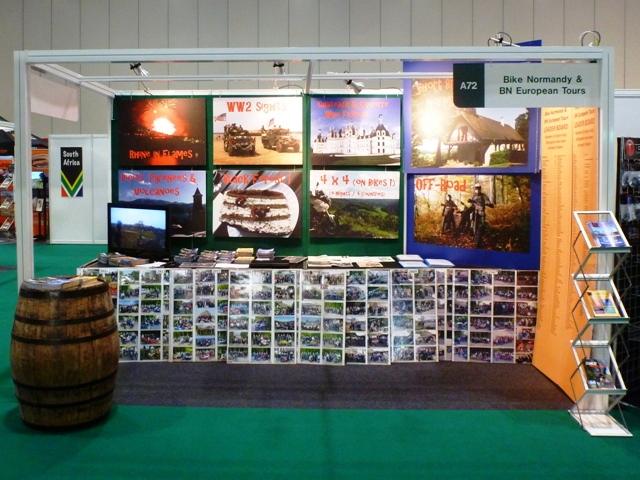 Our stand at EXCeL