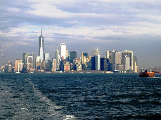 Take the free Staten Island Ferry...