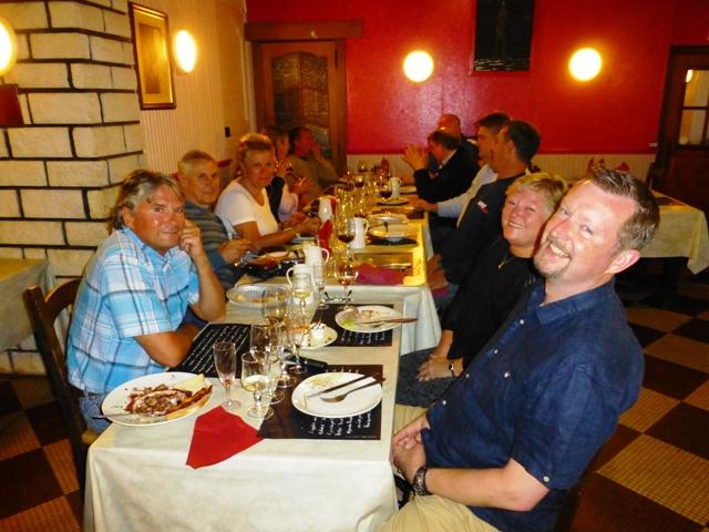 Dinner at Sancerre