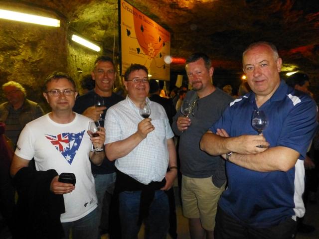 Martin, John E, Steve, John Y & Rob/Bob !