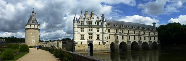 Our next Chateau is at Chenonceau