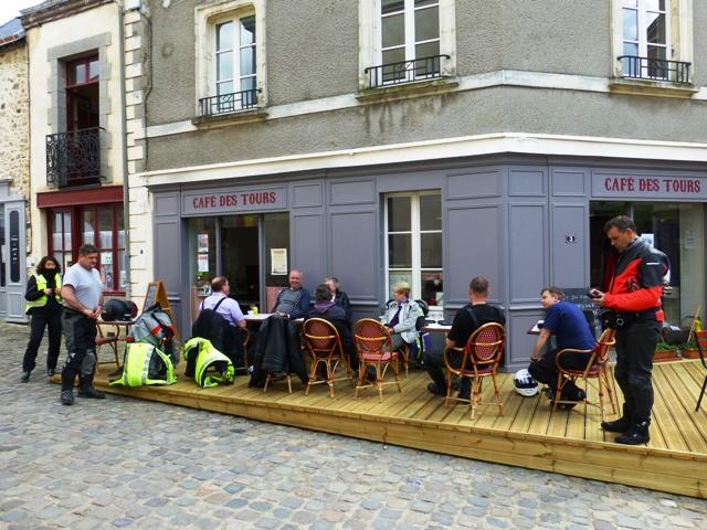 Pretty village coffee stops