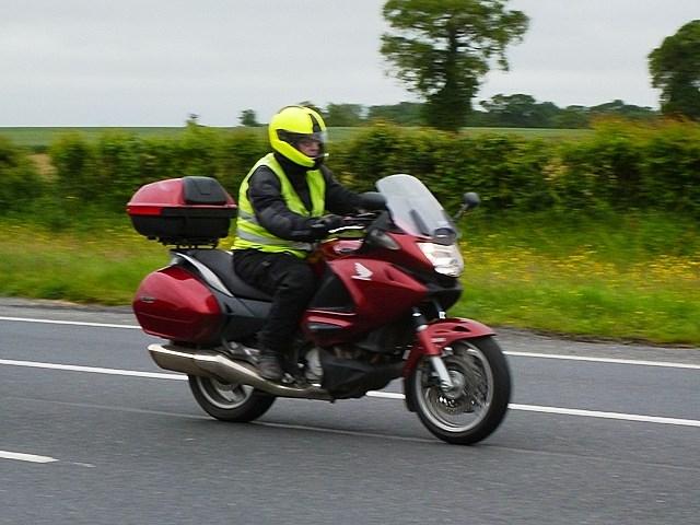 David C on his Honda NT700 VA