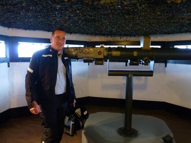 Craig with the Range Finder