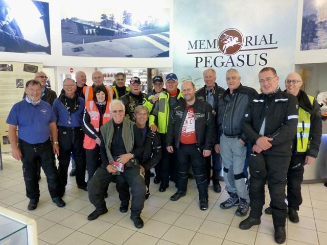 The Group at Pegasus Bridge