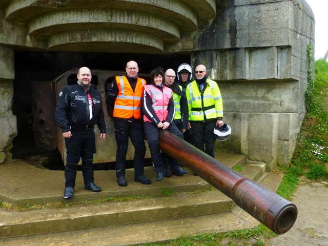 See the Gun Battery at Longues-sur-Mer