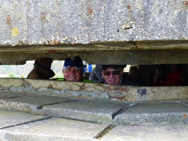 Eddie & Chris N hide in a Bunker