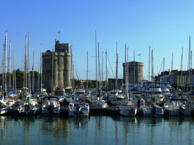 The harbour at La Rochelle