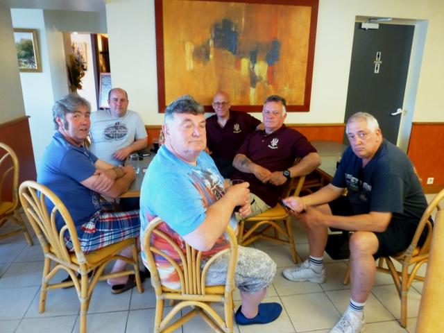 Horace, Alan R, Tristan, Chris N, Eddie & Steve