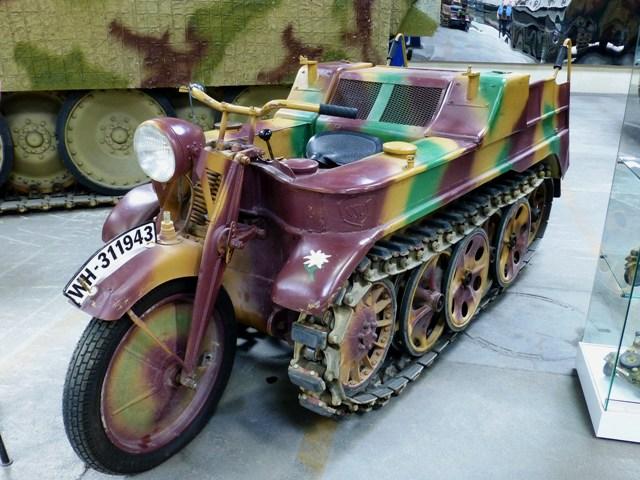 Kettenkrad half-tracked motorcycle