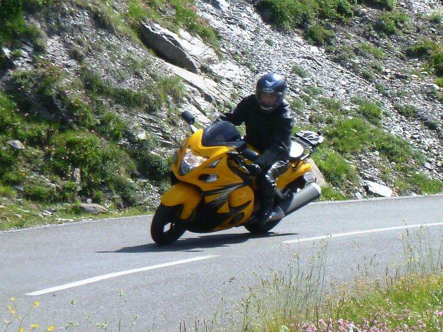 Paul on his Suzuki Hayabusa