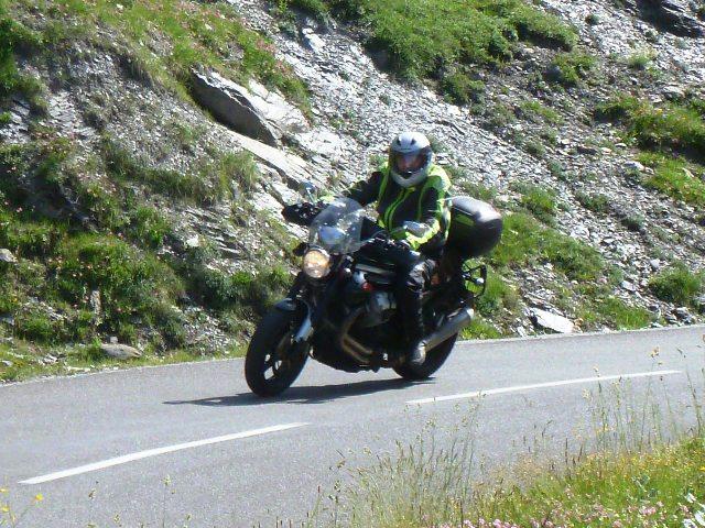 Steve F on his Moto Guzzi Griso