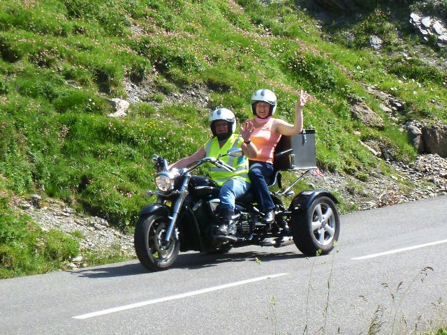 David & Marian on their Yamaha Trike