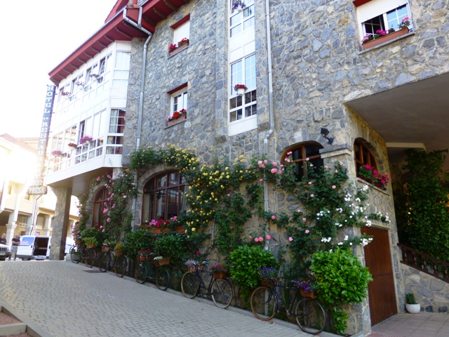Our hotel in the Picos Mountains