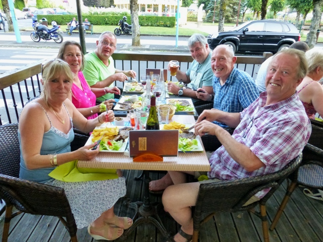 Most of us dine together
