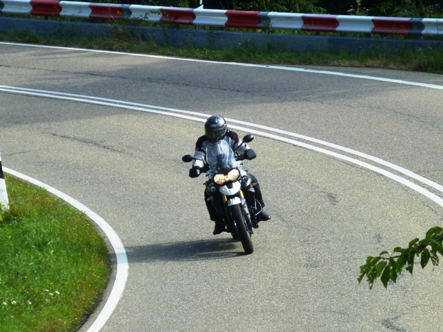 Robert S on his Tiger 800