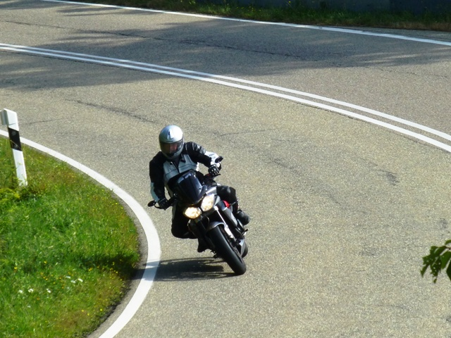 Dave on his Street Triple