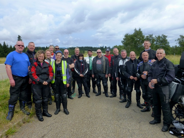 The Group at the end of the first part of the B500