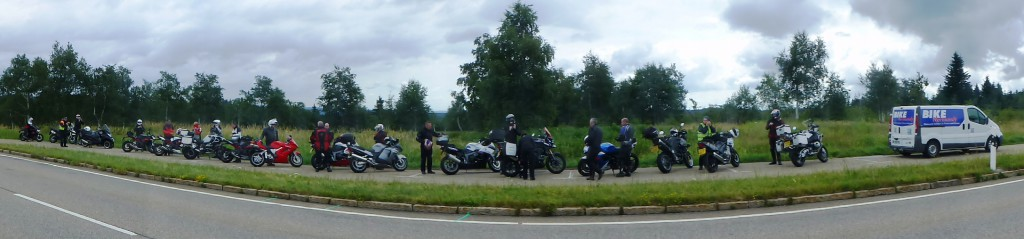 We re-group before setting off again