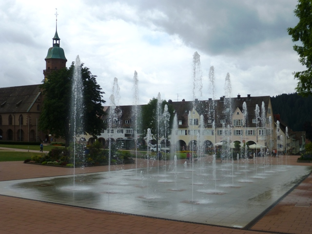 See the fountains