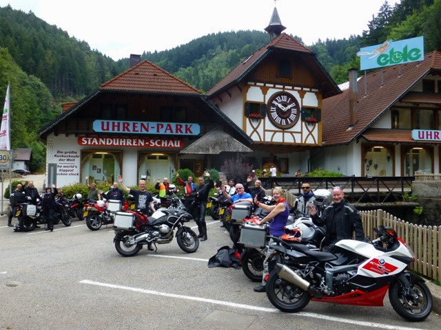 All the bikes at the cuckoo clock