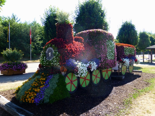 Pretty displays around the town