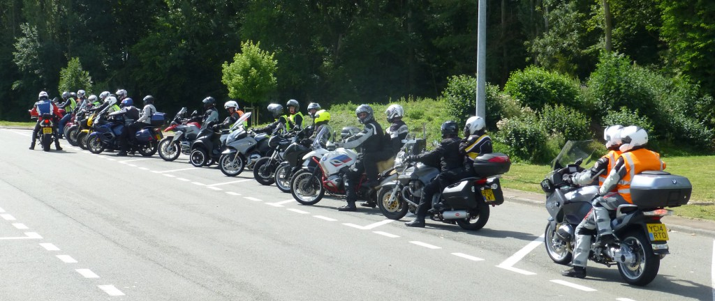 We always regroup before any motorway