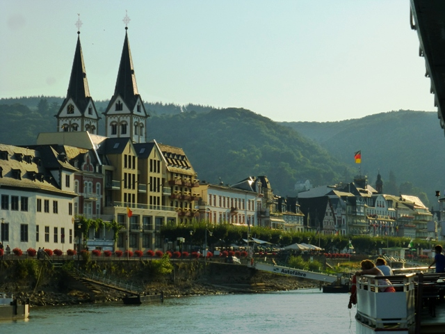 We arrive at Boppard