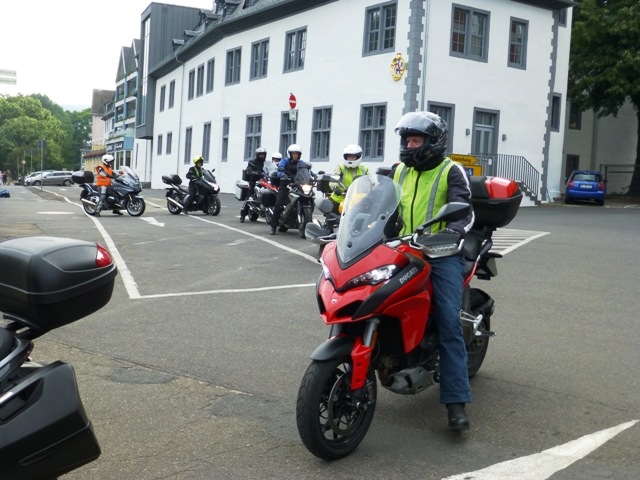 Alan on his Ducati Multistrada