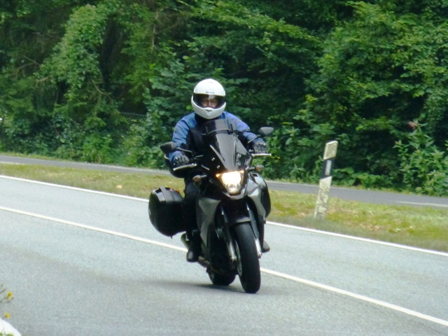Rob on his Honda Crossrunner