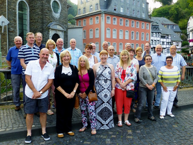 The Group in the prettiest town Monschau