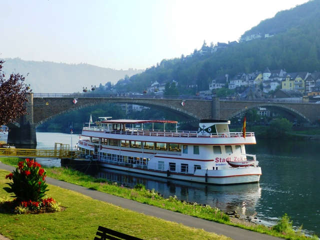 Lovely scenery on the Mosel