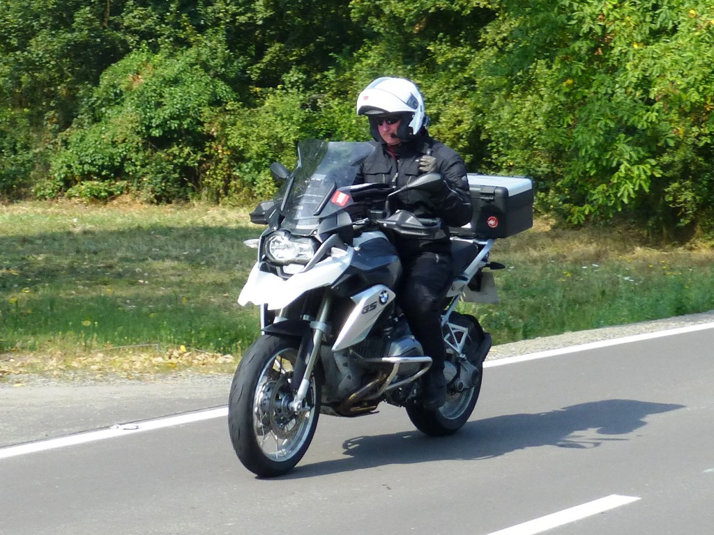 Mick on his BMW R1200GS