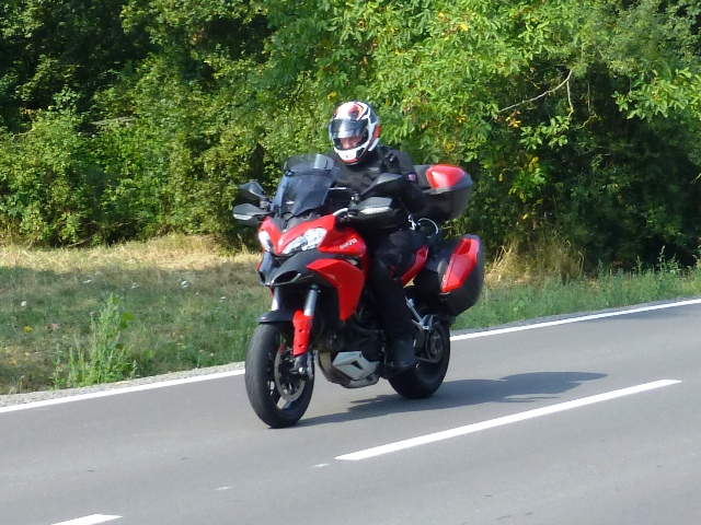 Ray on his Ducati Multistrada
