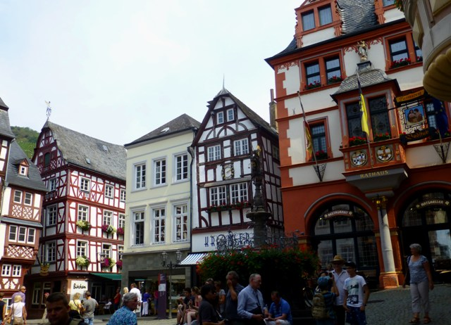 Next stop Bernkastel for lunch