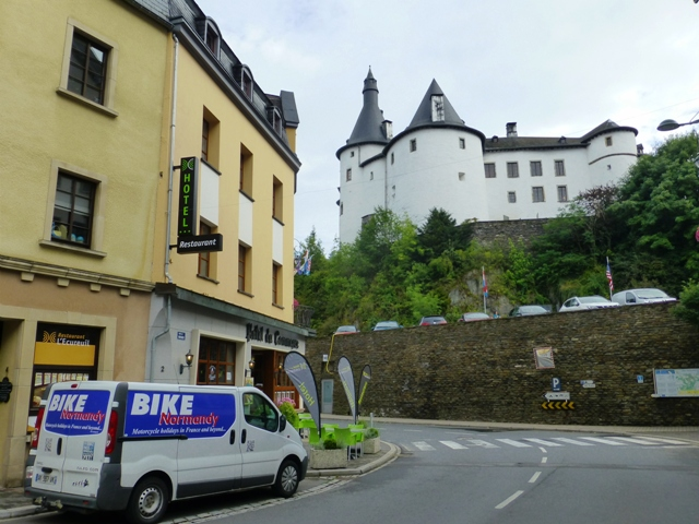 Our next hotel is in Luxembourg