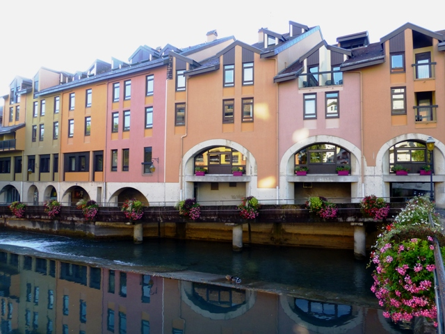 Our second hotel at Annecy