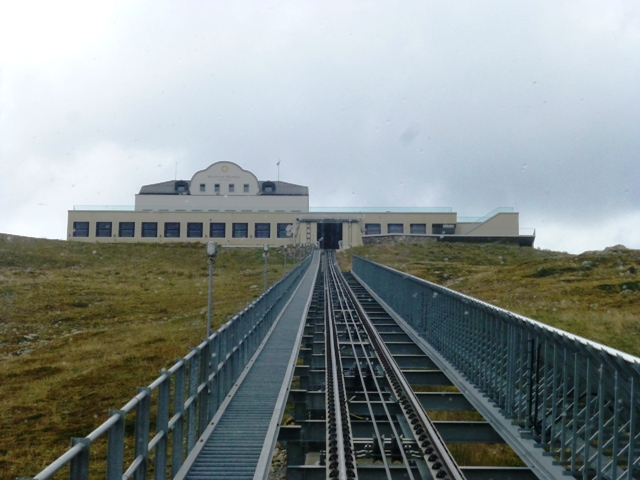 The viewing area at the top