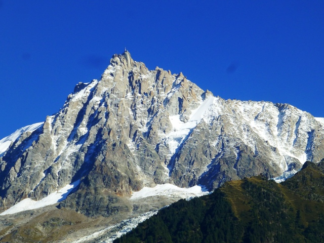 With fab views of Mont Blanc