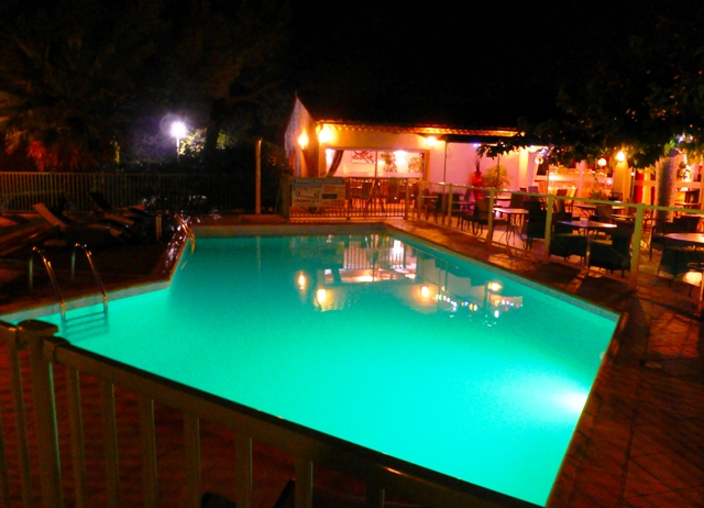 Monte Carlo Tour - Hotel Pool at Uzes