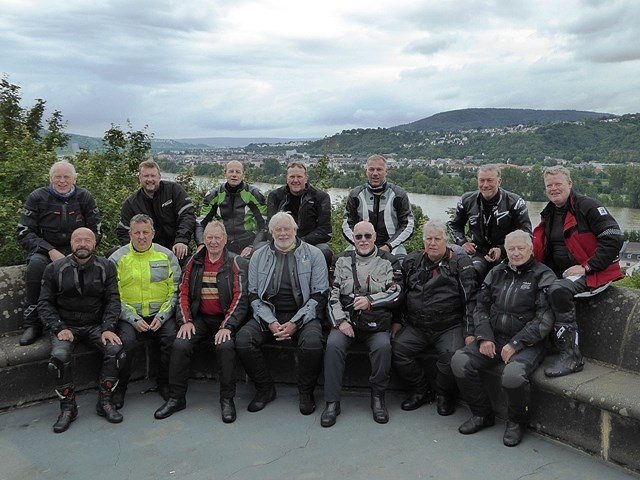 The Group in Germany - great riding in spite of some rain!