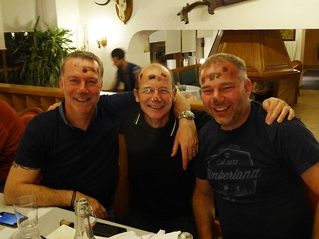 Russ, Keith & Andy who want to do it all again in 2017!