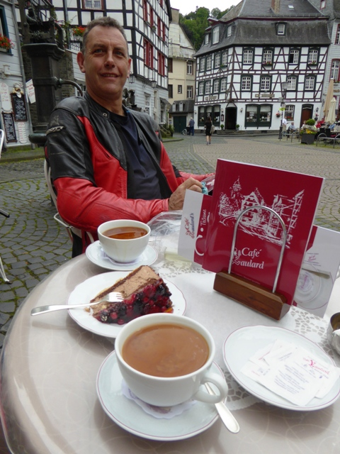 Coffee & cakes in Monschau