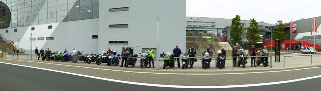 The Group at the Nurburgring