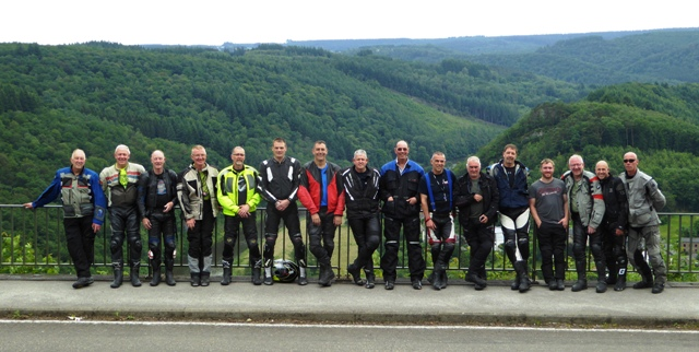 The Group in the Ardennes, Belgium