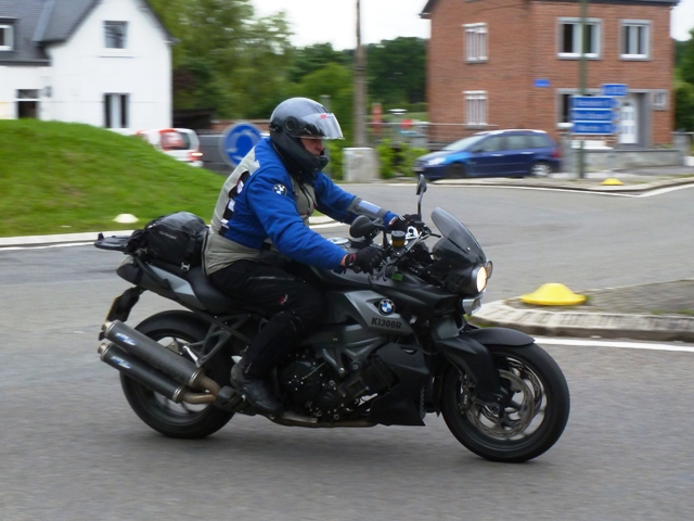 Paul B on his BMW K1300R