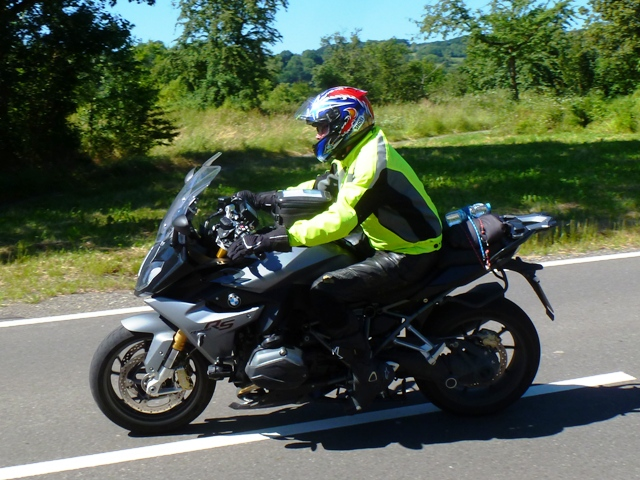 Jim on his BMW R1200RS