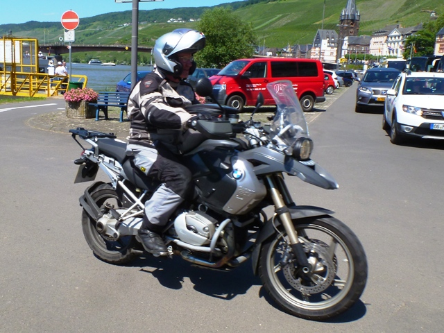 Paul N on his BMW 1200GS