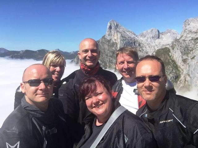 Ian, Shirley & Matt, Brian, Rees & Audrey